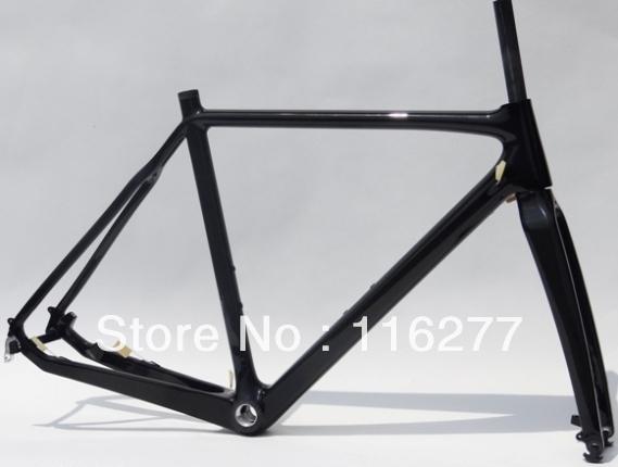 Full-Carbon-Cyclocross-cross-Bike-Disc-brake-Frame-Fork-Headset-Size-51cm-53cm-55cm-57cm